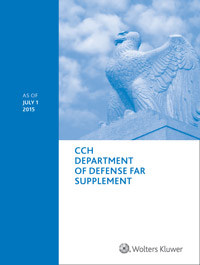 Department of Defense FAR Supplement (DFARS) as of July 1, 2017