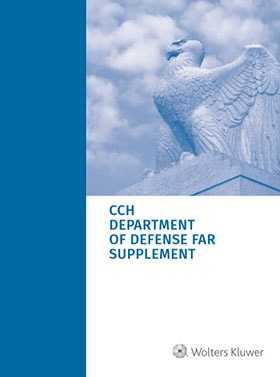 Department of Defense FAR Supplement (DFARS) as of July 1, 2018
