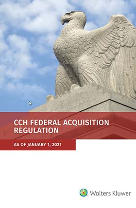 Federal Acquisition Regulation (FAR) as of January 1, 2021 by Wolters Kluwer Editorial Staff