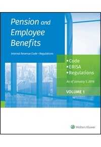 Pension and Employee Benefits Code ERISA Regulations as of January 1, 2018 (4 Volumes)