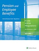 Pension and Employee Benefits Code ERISA Regulations as of January 1, 2020 (4 Volumes) by Wolters Kluwer Editorial Staff
