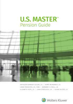 U.S. Master Pension Guide, 2018 Edition