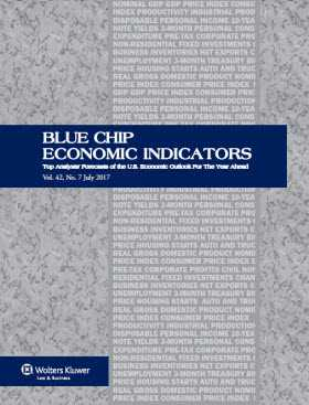 Blue Chip Economic Indicators: Archive of Annual Consensus Forecast from 1977+ (Excel)