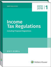 Image of Income Tax Regulations (Winter 2018)