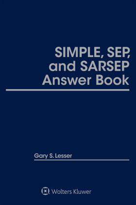 SIMPLE, SEP, and SARSEP Answer Book,  Twenty-Third  Edition