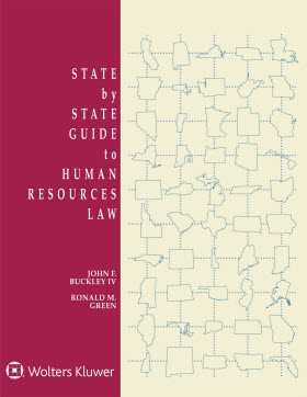 State by State Guide to Human Resources Law, 2018 Edition
