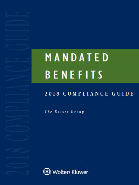 Mandated Benefits 2018 Compliance Guide