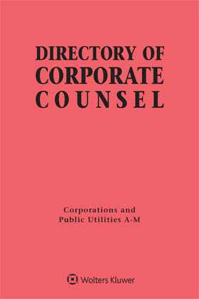 Directory of Corporate Counsel, 2017-2018 Edition
