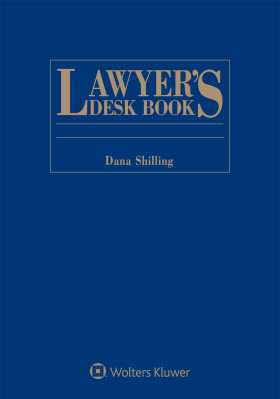 Lawyer's Desk Book, 2018 Edition