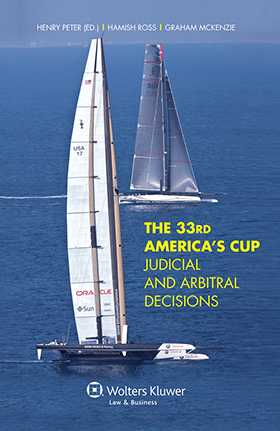The 33rd America's Cup Judicial and Arbitral Decisions