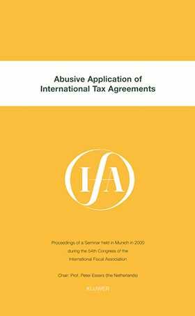IFA: Abusive Application of International Tax Agreements