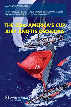 The 32nd America's Cup Jury and its Decisions by