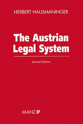 The Austrian Legal System, 2nd edition