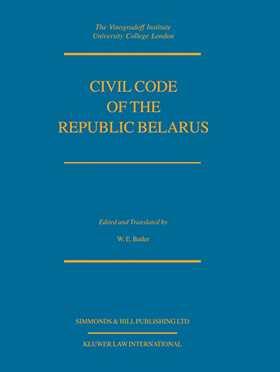 Civil Code Of The Republic Belarus