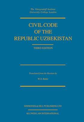 Civil Code Of The Republic Uzbekistan, Third Edition