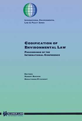 Codification Of Environmental Law
