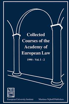 Collected Courses Of The Academy Of Europ Law/1990 Protect Hum (Volume I, Book 2)