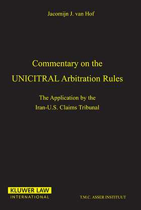 Commentary On The Uncitral Arbitration Rules, The Applications By