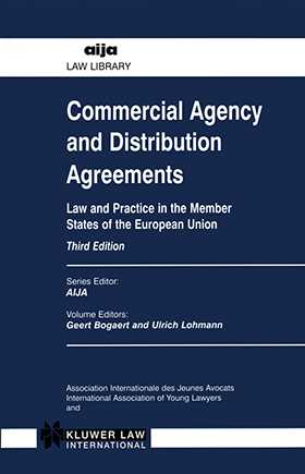 Commercial Agency and Distribution Agreements, 3rd Edition