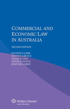 Commercial And Economic Law In Australia Second Edition
