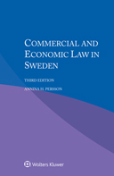 Commercial and Economic Law in Sweden, Third edition by PERSSON