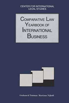 Comparative Law Yearbook of International Business 1991