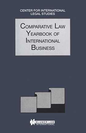 Comparative Law Yearbook Of International Business 1995