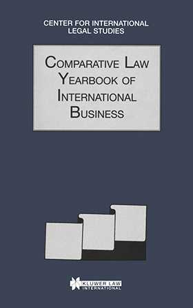 Comparative Law Yearbook Of International Business 1996