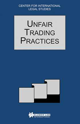 Comparative Law Yearbook Of International Business: Unfair 1996
