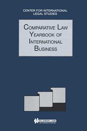 Comparative Law Yearbook Of International Business 1998