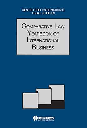 Comparative Law Yearbook of International Business 1999