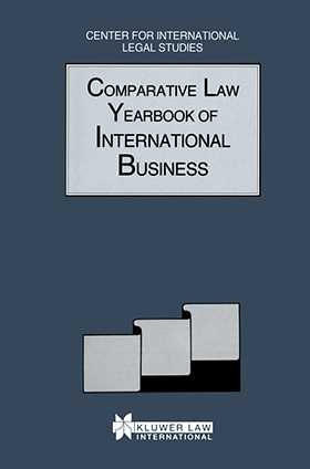 Comparative Law Yearbook of International Business 2002 Vol 24