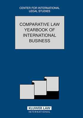 Comparative Law Yearbook of International Business Volume 27 2005 by