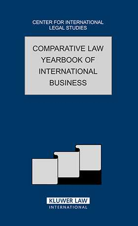 Comparative Law Yearbook of International Business 2006 by