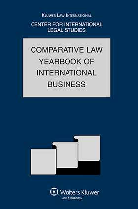 Comparative Law Yearbook of International Business Volume 30