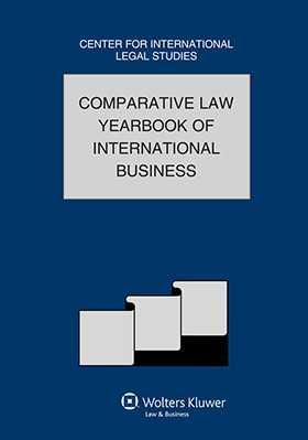 Comparative Law Yearbook of International Business 2010 - Volume 32