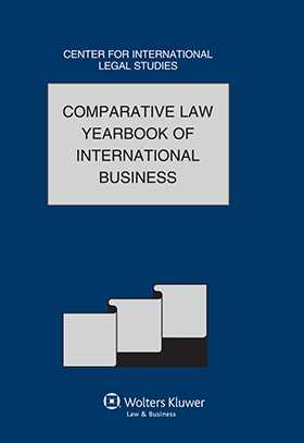 Comparative Law Yearbook International Business 2011 Vol 33