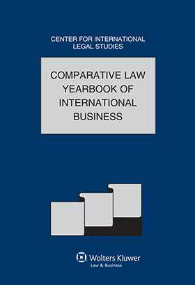 Comparative Law Yearbook of International Business Volume 33A. Special Issue 2012