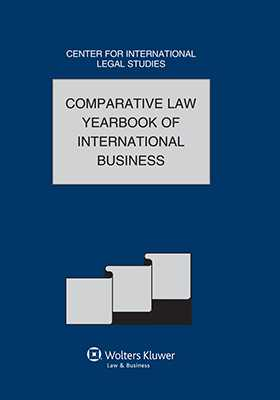 Comparative Law Yearbook of International Business, Volume 36 by