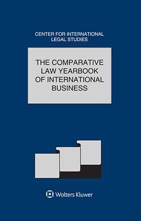 Comparative Law Yearbook of International Business Volume 37  2015 by