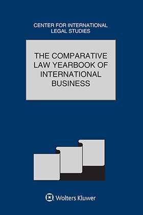 Comparative Law Yearbook of International Business. Volume  38