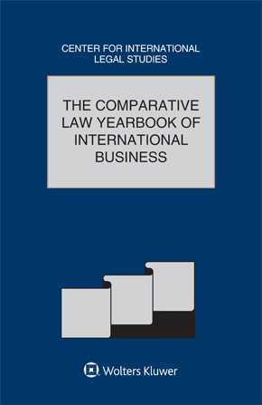 Comparative Law Yearbook of International Business 39 by CAMPBELL