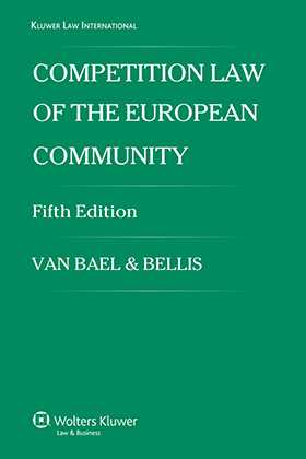 Competition Law of the European Community- 5th Edition by