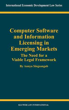 Computer Software and Information Licensing in Emerging Markets