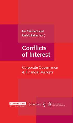 Conflicts of Interest: Corporate Governance & Financial Markets