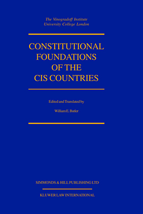 Constitutional Foundations Of Cis Countries