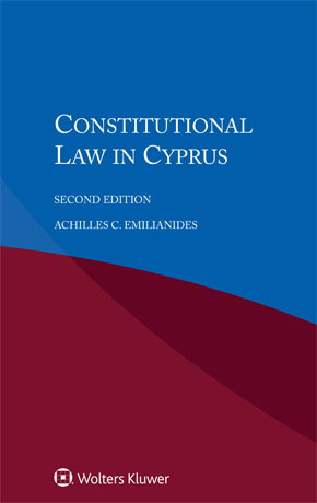 Constitutional Law In Cyprus, Second Edition by EMILIANIDES
