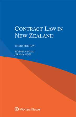 Contract Law in New Zealand, Third edition by TODD