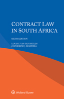 Contract Law in South Africa, Sixth edition by VAN HUYSSTEEN