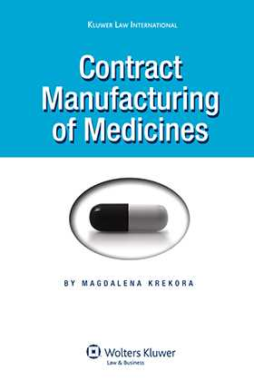 Contract Manufacturing of Medicines by Magdalena Krekora